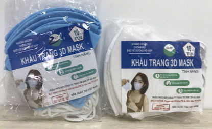Ảnh của Khẩu trang 3D Mask Hà Anh - Túi 10 cái